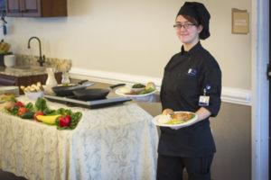 Food service at Woodbury