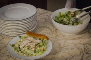 Caesar Salad from Dining Room