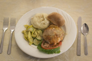 Dinner from Woodbury Dining Service