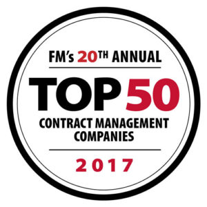 Woodbury Award for Top 50 Contract Management Companies in 2017